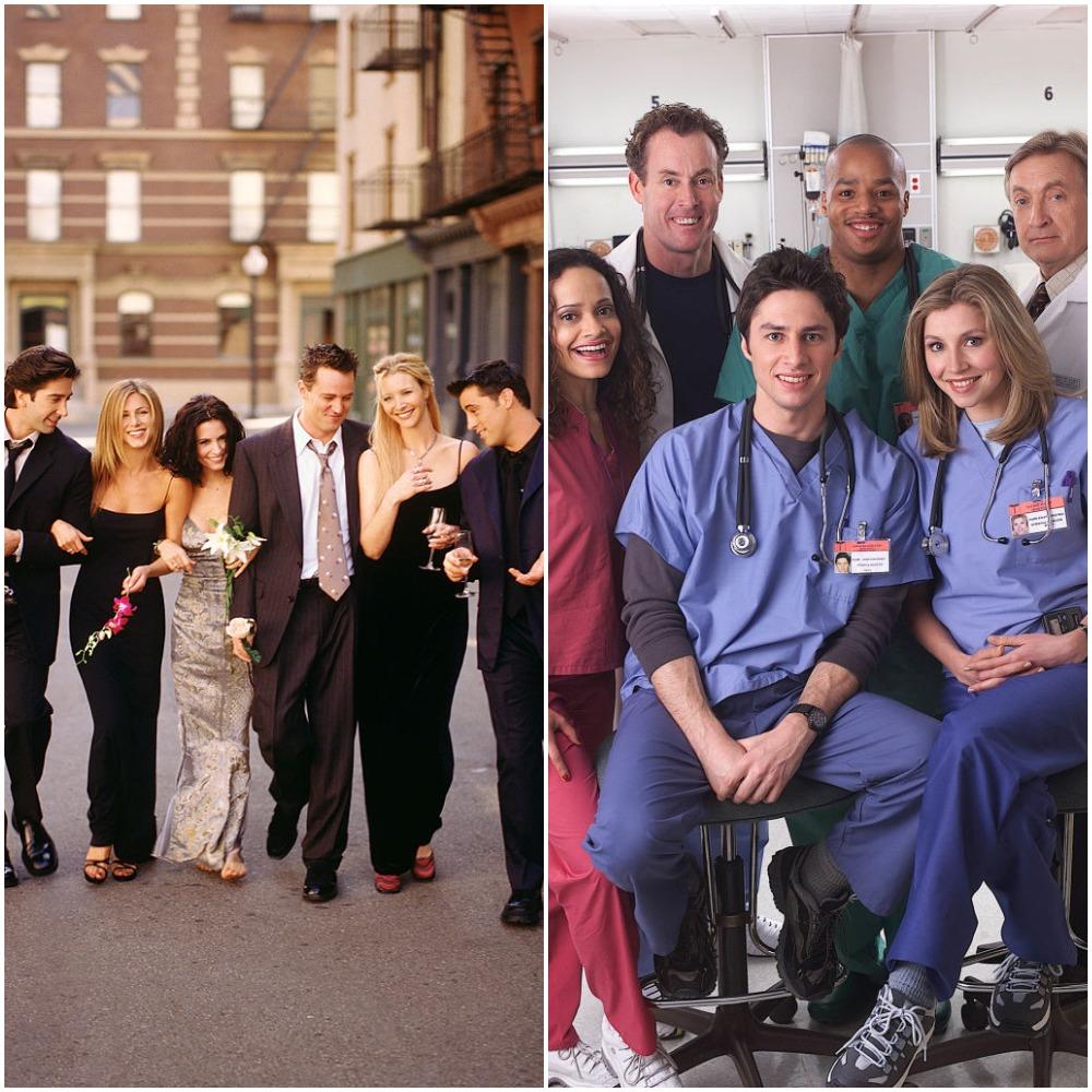 Friends cast and Scrubs cast