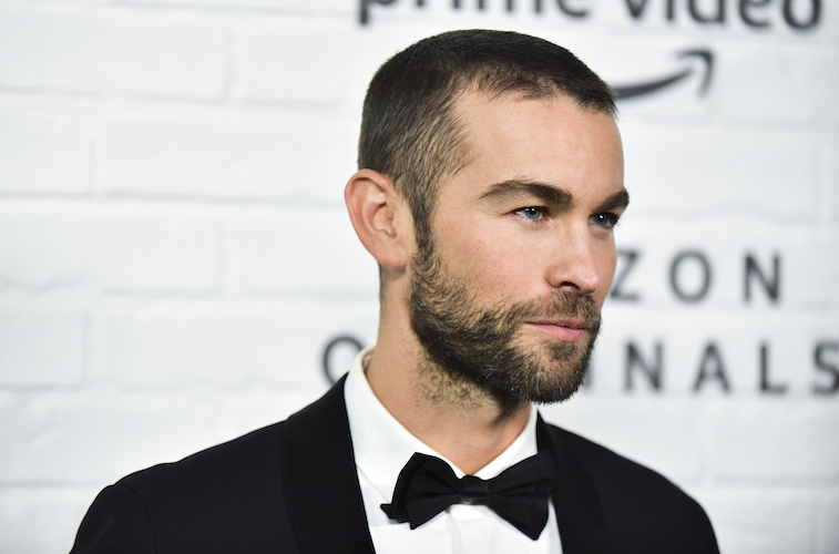 Chace Crawford on the red carpet