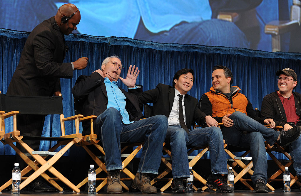 Chevy Chase, Ken Jeong, Joe Russo, and Anthony Russo