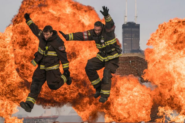 'Chicago Fire' Has a Number of Real Firefighters in Those Intense Incident Scenes