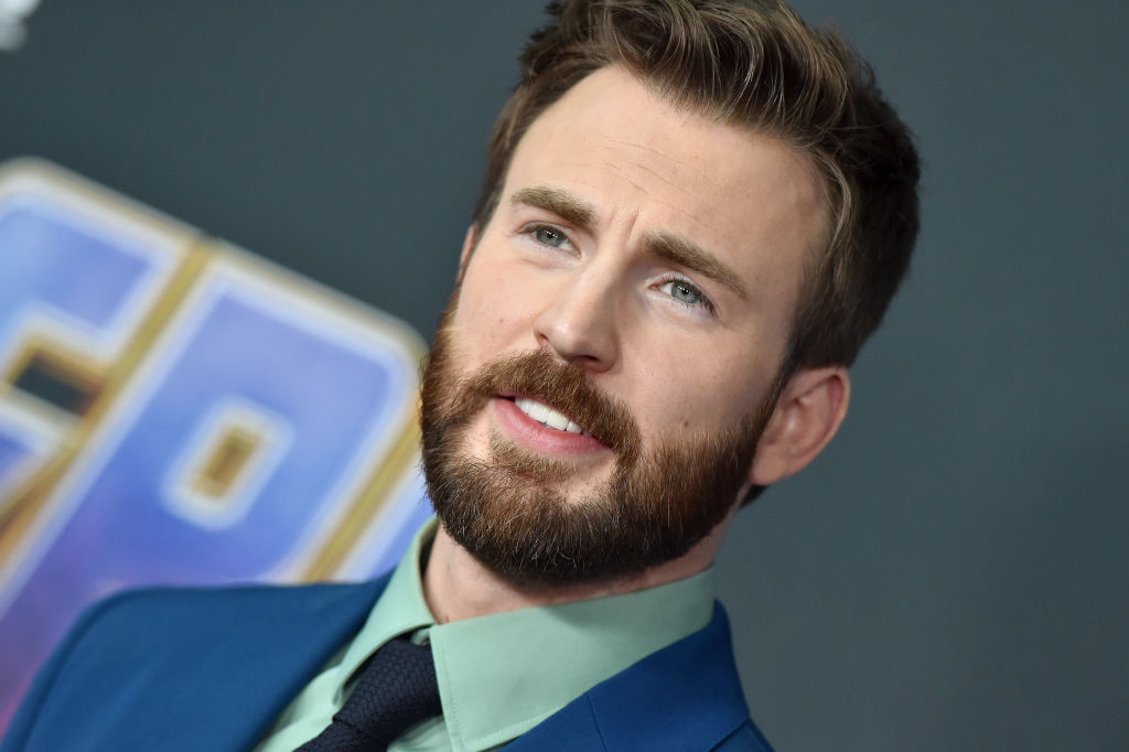 Chris Evans who plays Captain America/Steve Rogers attends the World Premiere of Walt Disney Studios Motion Pictures 'Avengers: Endgame' at Los Angeles Convention Center on April 22, 2019 in Los Angeles, California.