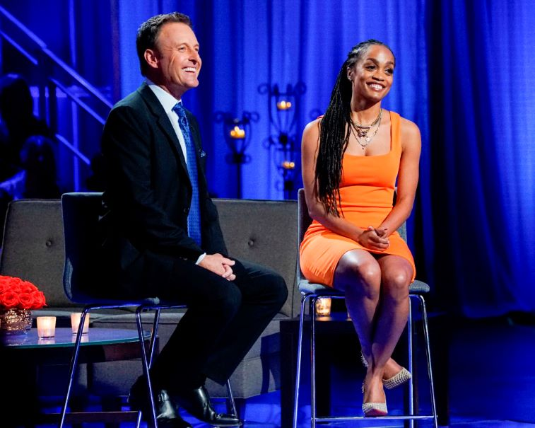 'The Bachelor' Host Chris Harrison and Rachel Lindsay of Bachelor Nation