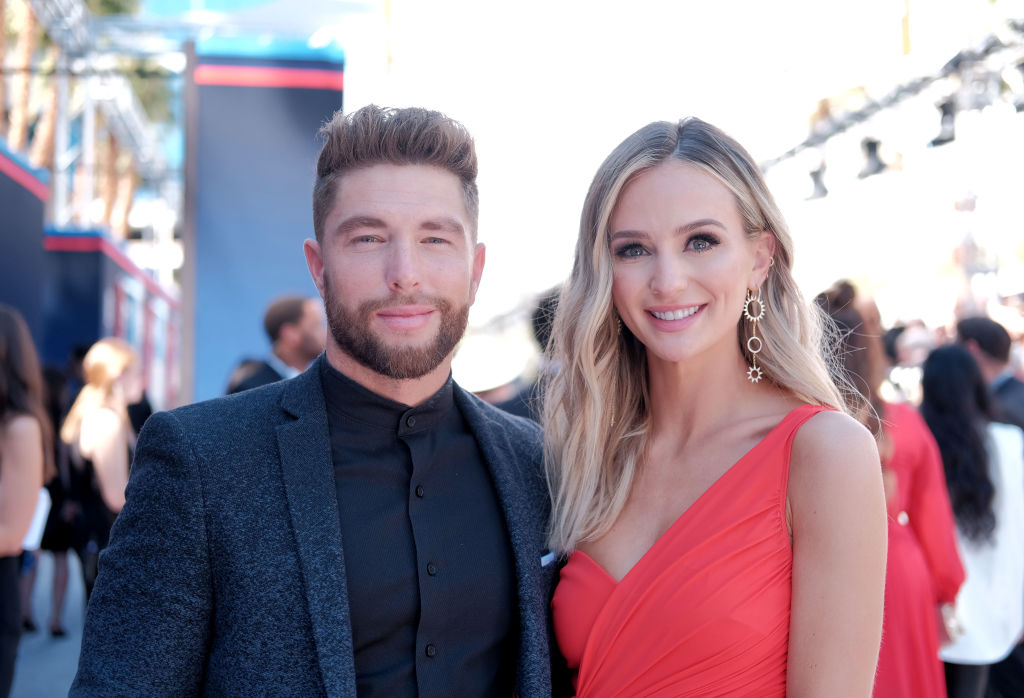 Chris Lane and Lauren Bushnell Lane