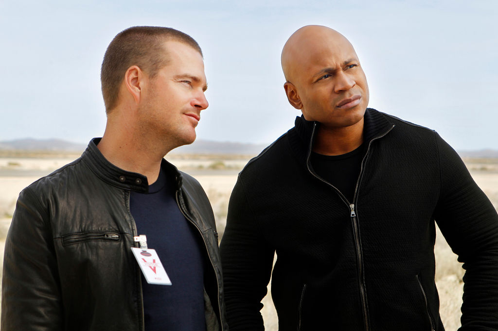 Chris O'Donnell and LL Cool J   Monty Brinton/CBS via Getty Images