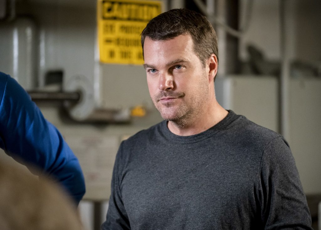 Chris O'Donnell as Special Agent G. Callen |  Erik Voake/CBS via Getty Images