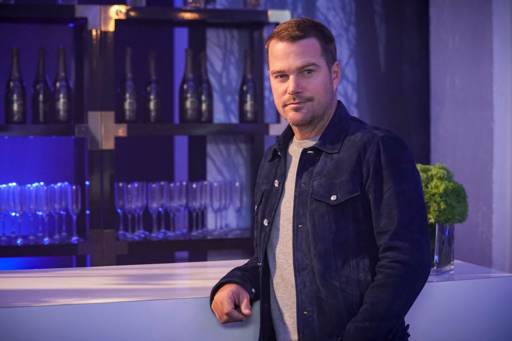 Chris O'Donnell on the set of NCIS: Los Angeles | Sonja Flemming/CBS via Getty Images