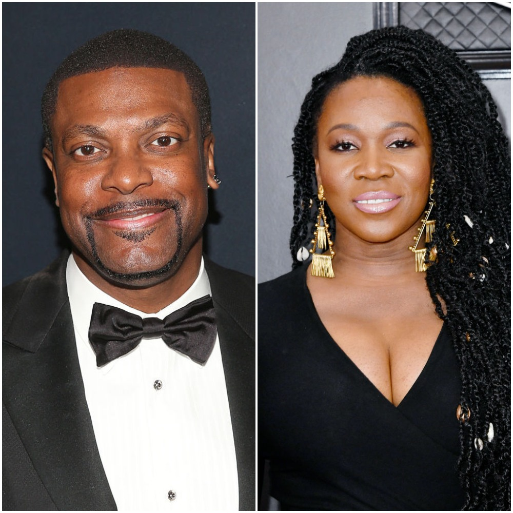 Chris Tucker and India Arie