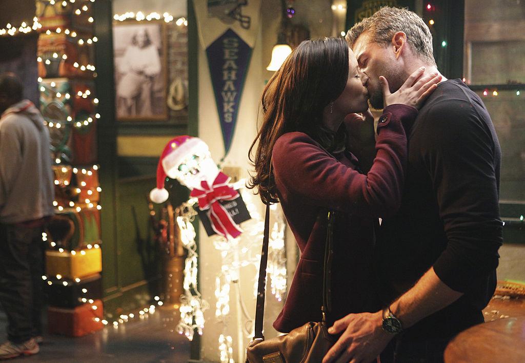 """Chyler Leigh as Lexxie Grey and Eric Dane as Mark Sloan on ABC's """"Grey's Anatomy"""" - Season Seven"""