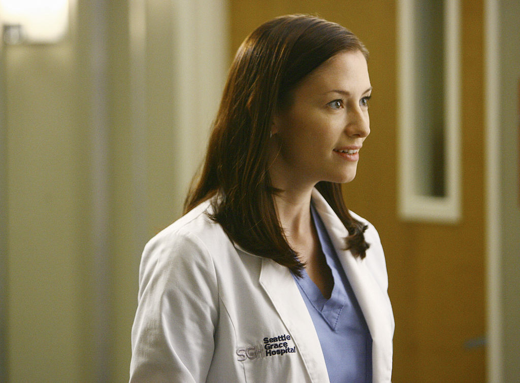 Chyler Leigh as Lexie Grey on GREY S ANATOMY