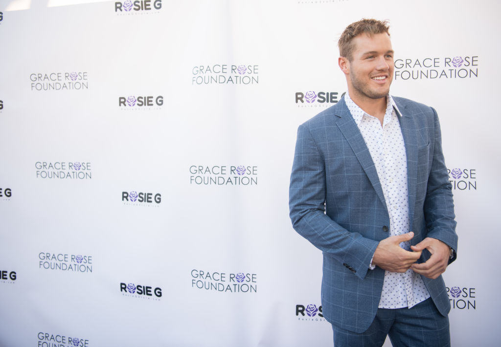 Colton Underwood at an event in Beverly Hills