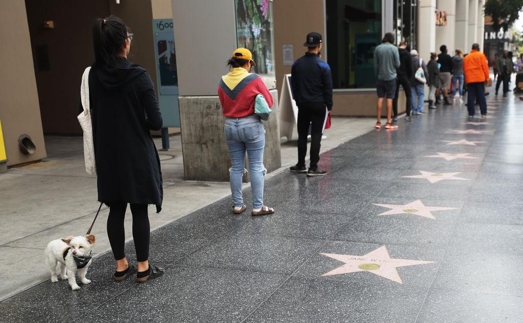 Coronavirus in Hollywood