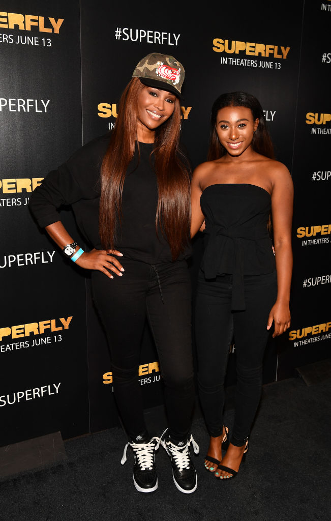 Cynthia Bailey and Noelle Robinson in 2018