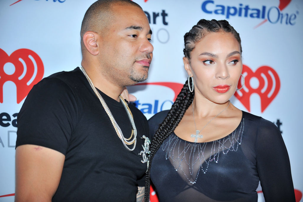 DJ Envy and Gia Casey in 2017