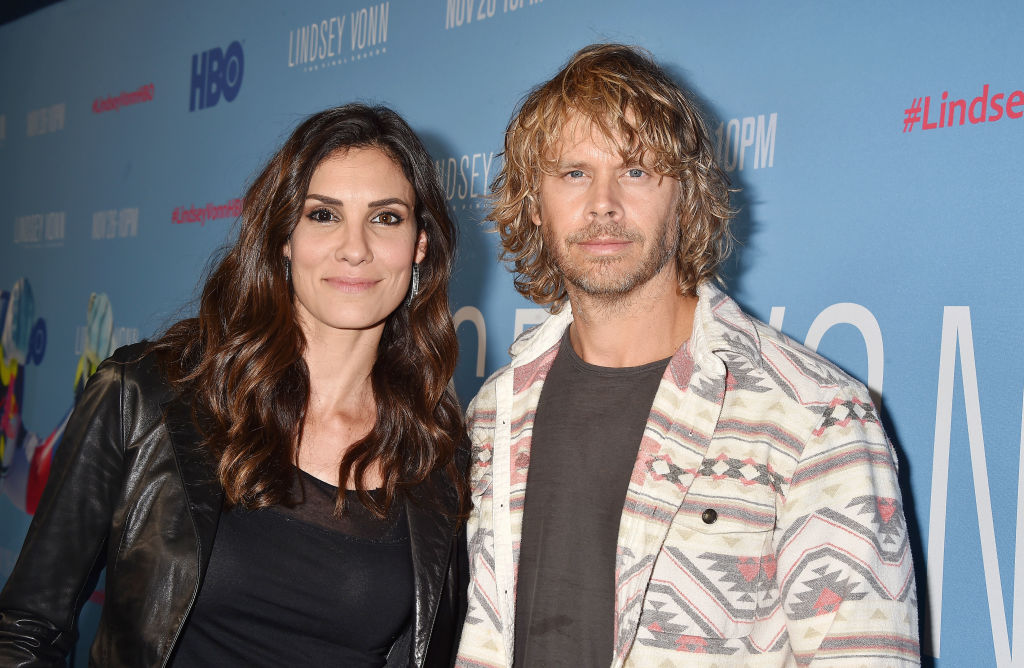Daniela Ruah and Eric Christian Olsen | FilmMagic/FilmMagic for HBO