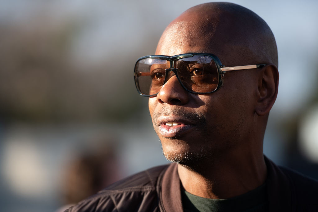 Dave Chappelle at an event in January 2020