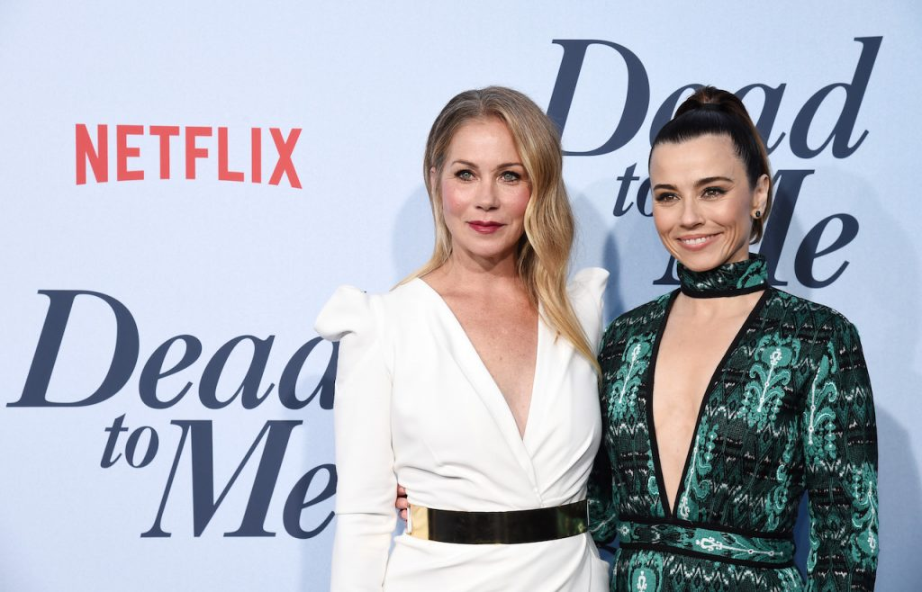 'For me' co-star Christina applegate and Linda cardellini