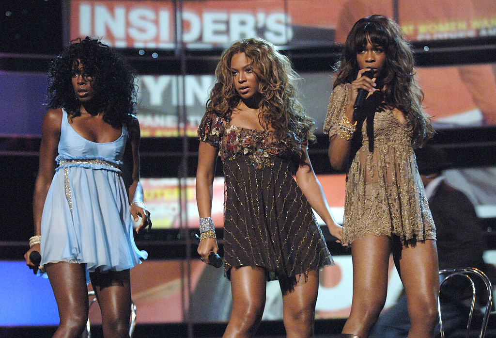 Kelly Rowland, Beyoncé Knowles and Michelle Williams