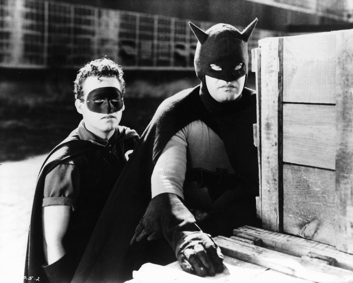 Douglas Croft And Lewis Wilson In 'Batman' 1943