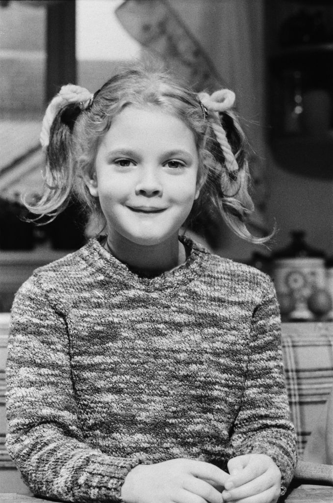 Drew Barrymore as a child star