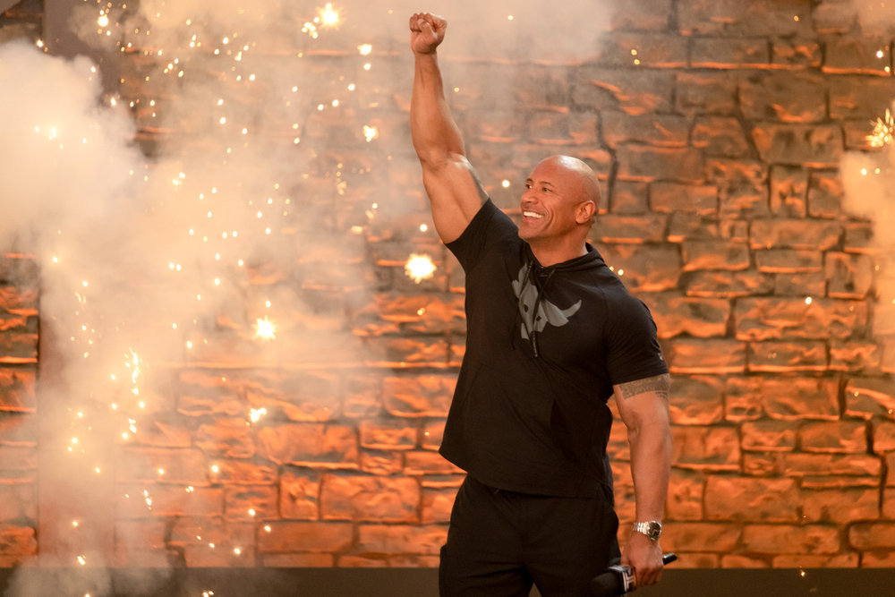 Dwayne Johnson hosts The Titan Games