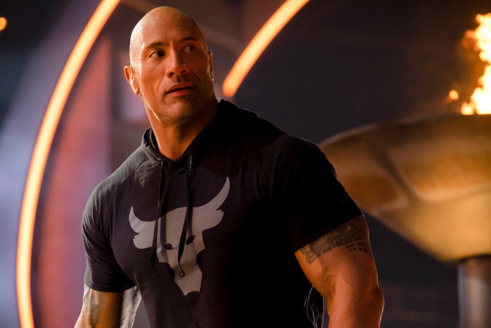 Dwayne Johnson hosting Titan Games