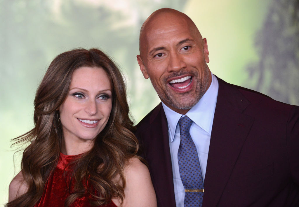 Dwayne 'The Rock' Johnson and Lauren Hashian