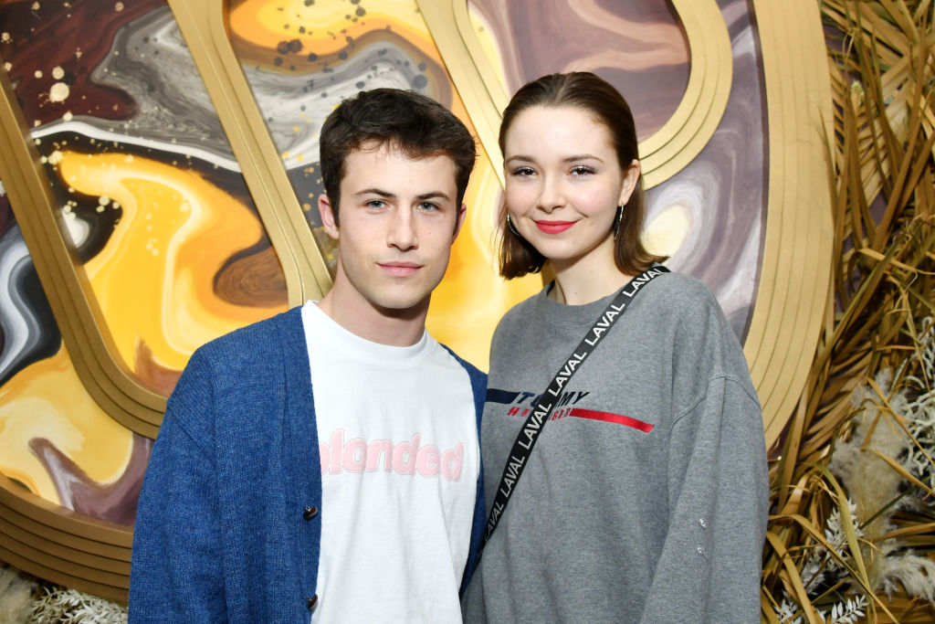 13 Reasons Why star Dylan Minnette and Lydia Night