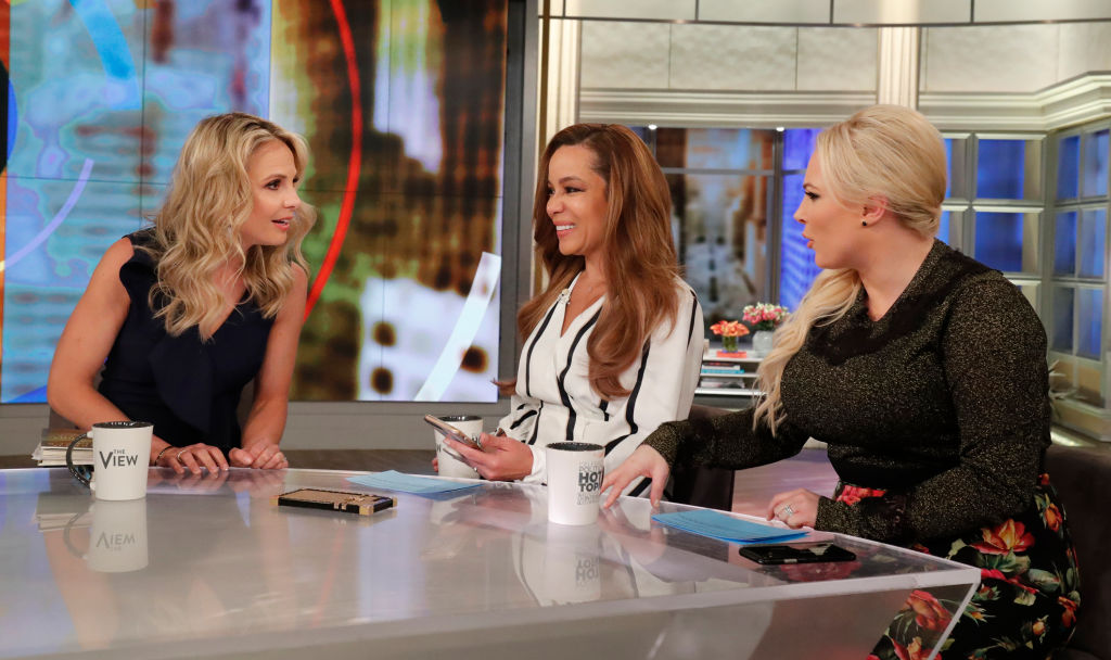 Elisabeth Hasselbeck, Sunny Hostin, and Meghan McCain of 'The View' |