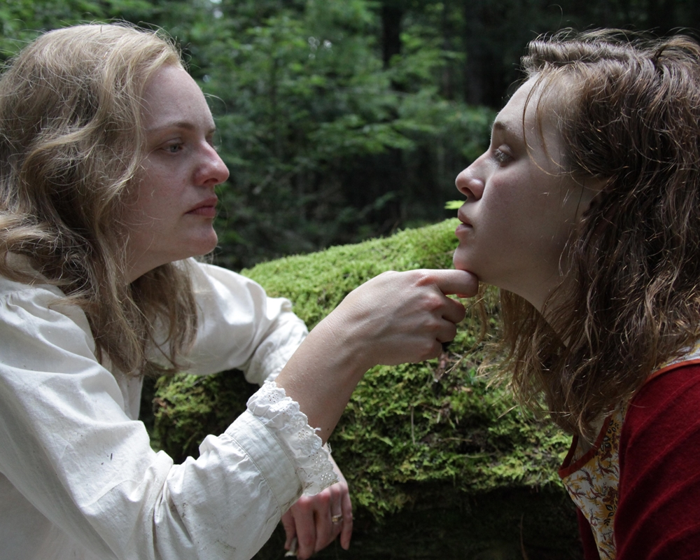 Elisabeth Moss and Odessa Young
