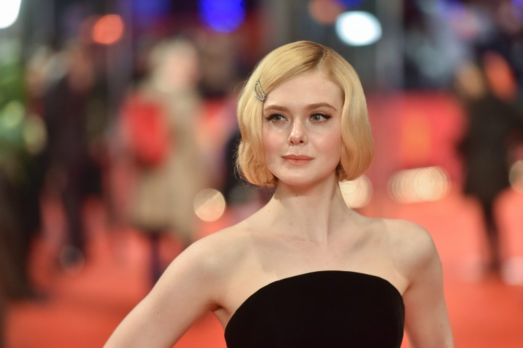 Elle Fanning star of The Great
