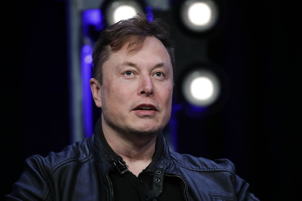 Elon Musk, Founder and Chief Engineer of SpaceX2020