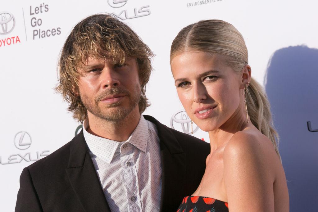 Eric Christian Olsen and Sarah Wright