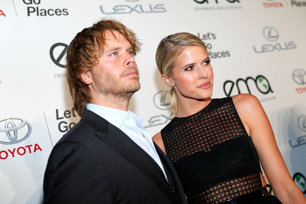 Eric Christian Olsen and Sarah Wright   Rich Polk/Getty Images for Environmental Media Awards