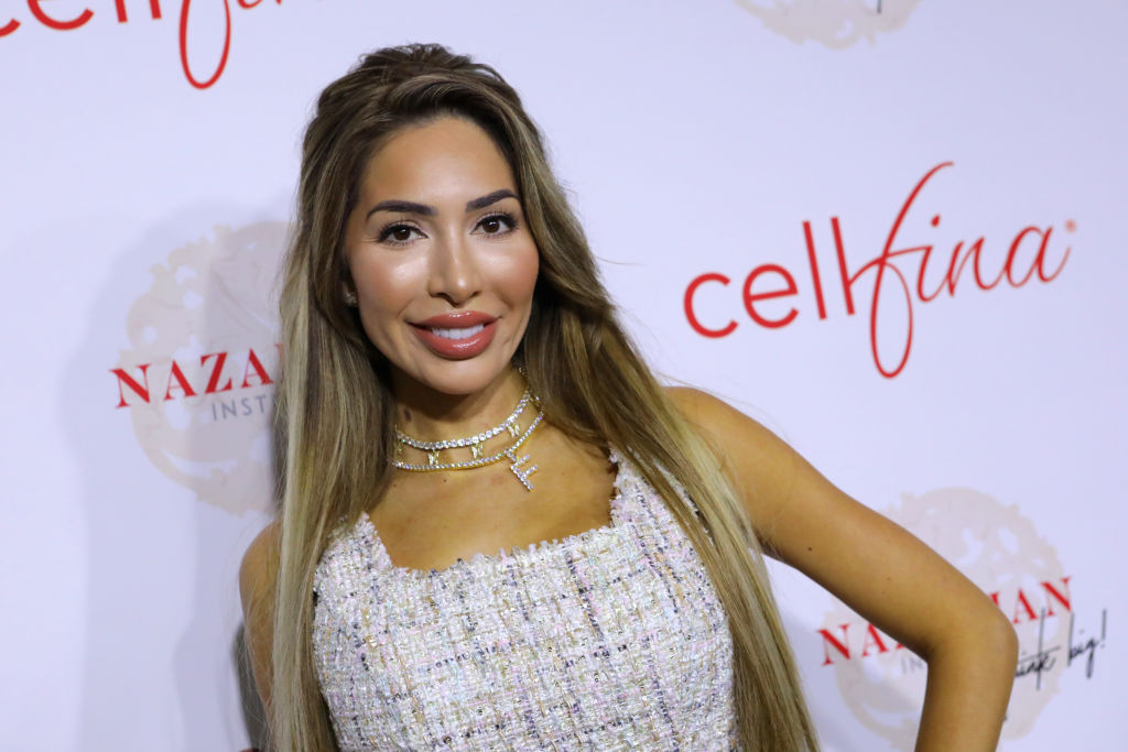 Farrah Abraham attends the Nazarian Institute's ThinkBIG 2020 Conference
