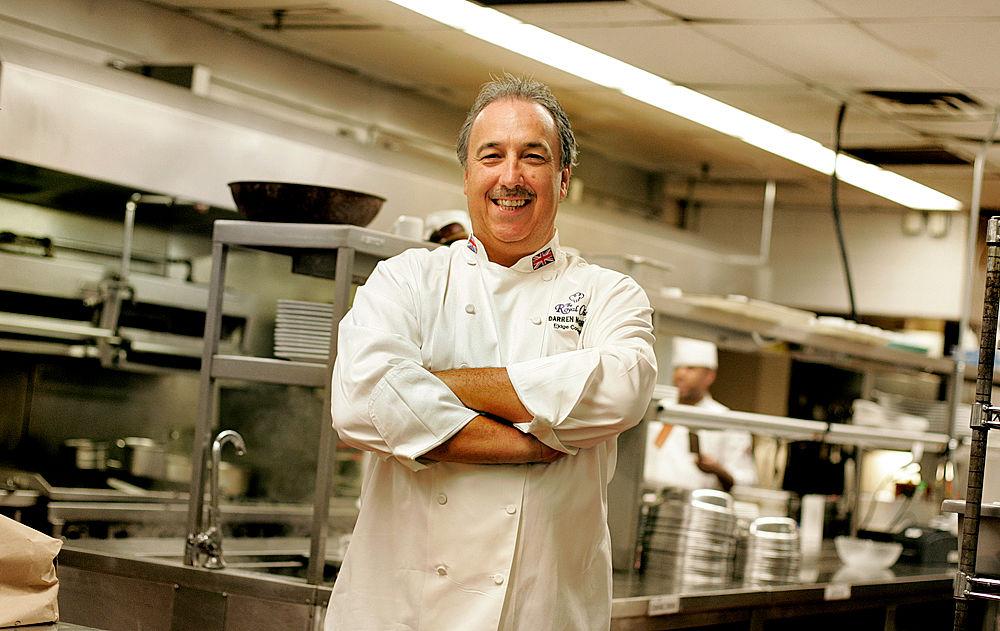 Former royal chef Darren McGrady