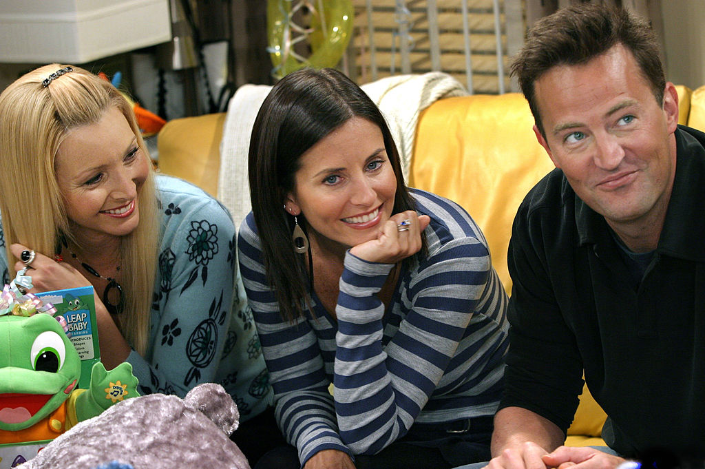 Lisa Kudrow, Courteney Cox, and Matthew Perry