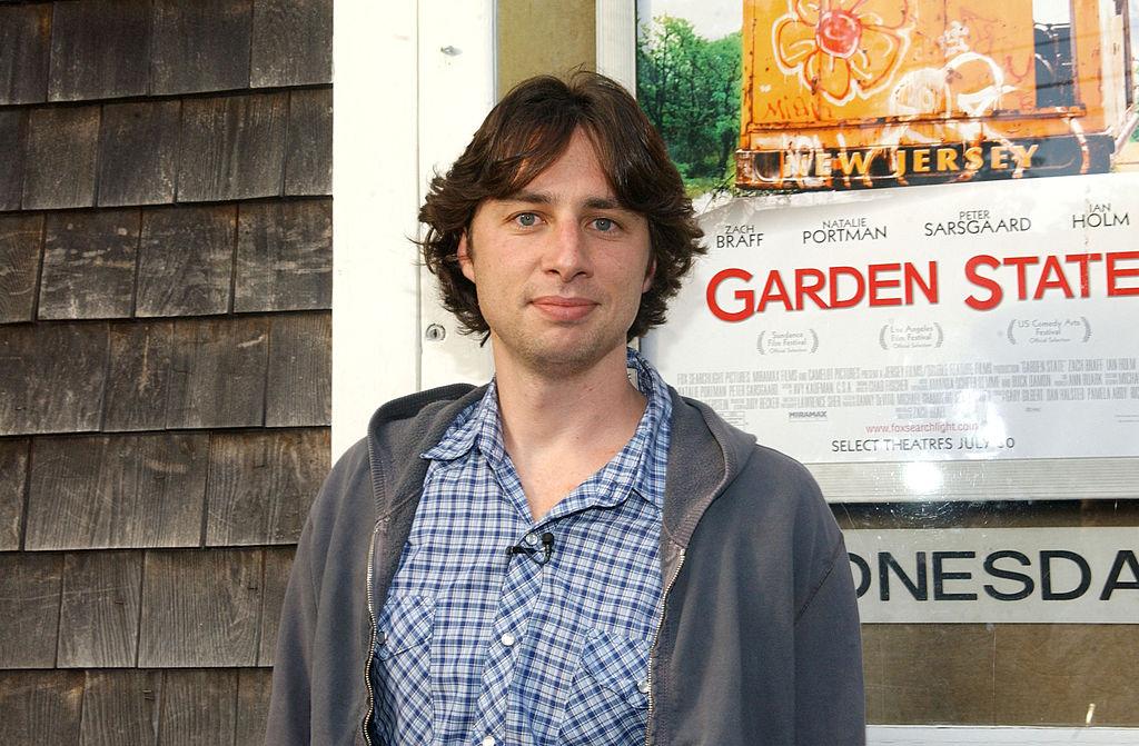 Zach Braff, director of Garden State