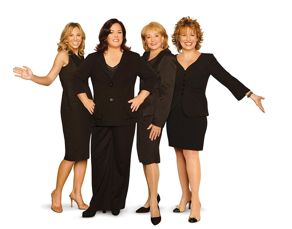 Elisabeth Hasselbeck, Rosie O'Donnell, Barbara Walters, and Joy Behar of 'The View,'  Season 10