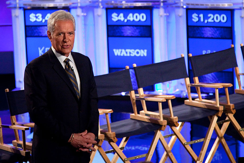 'Jeopardy!' host Alex Trebek
