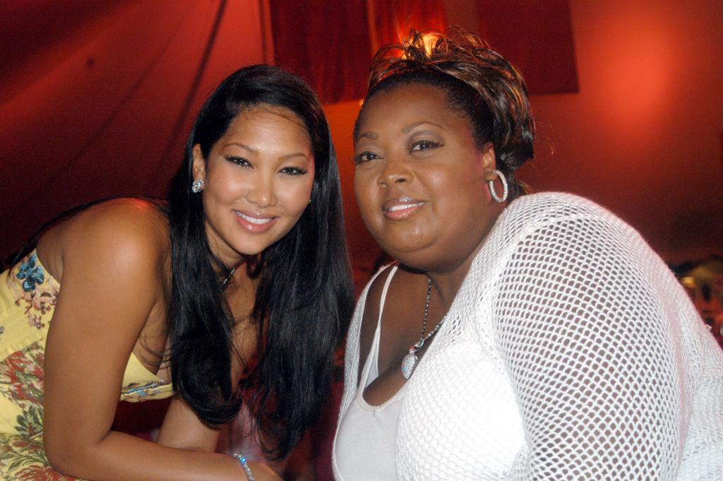 Star Jones (right) with Kimora Lee Simmons in 2003