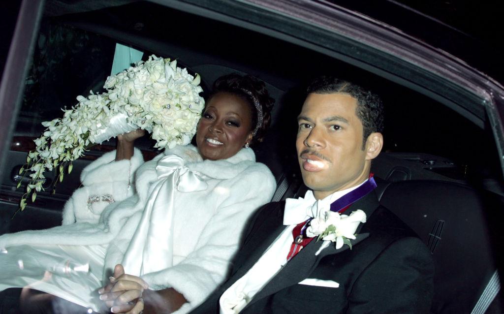 Star Jones and Al Reynolds on their wedding day