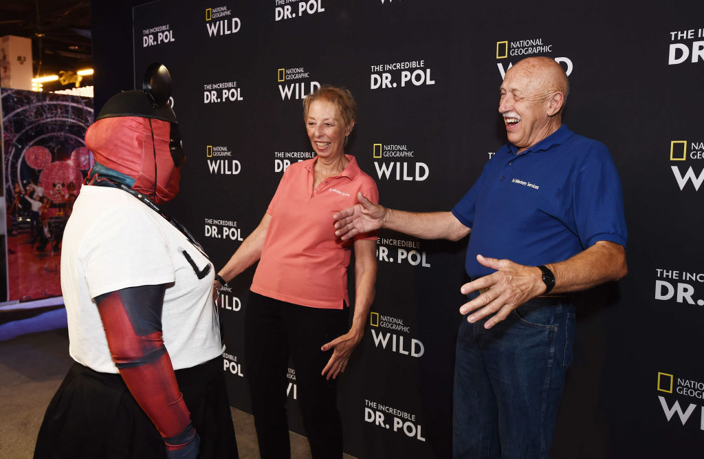 Diane Pol and Dr. Jan Pol of 'The Incredible Dr. Pol'