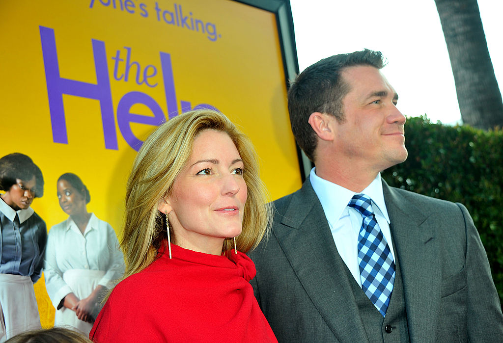 Author of 'The Help' Kathryn Stockett and the film's director, Tate Taylor
