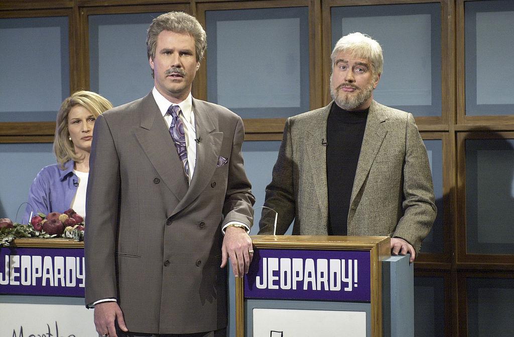 Will Ferrell as Alex Trebek in a 2001 skit on 'Saturday Night Live'