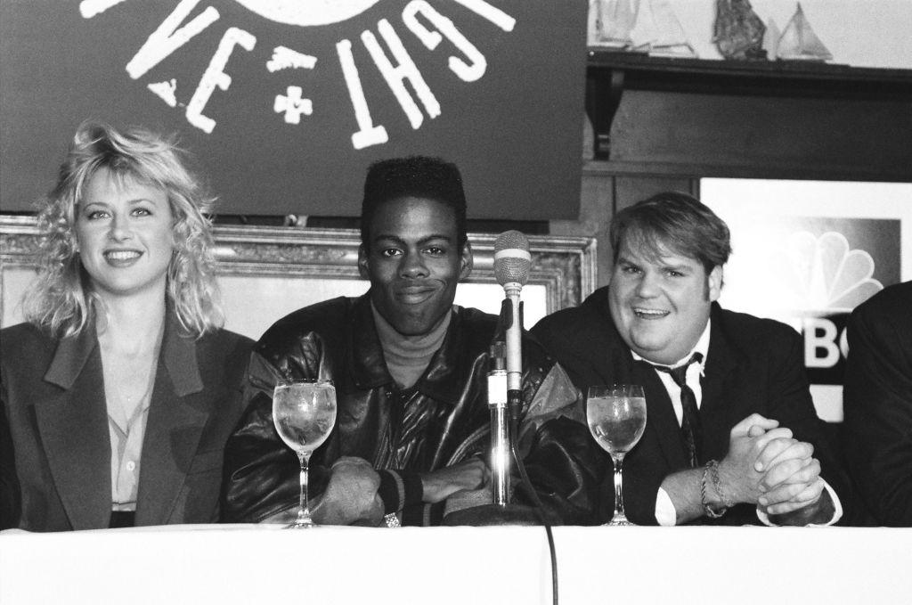 Chris Rock (center)