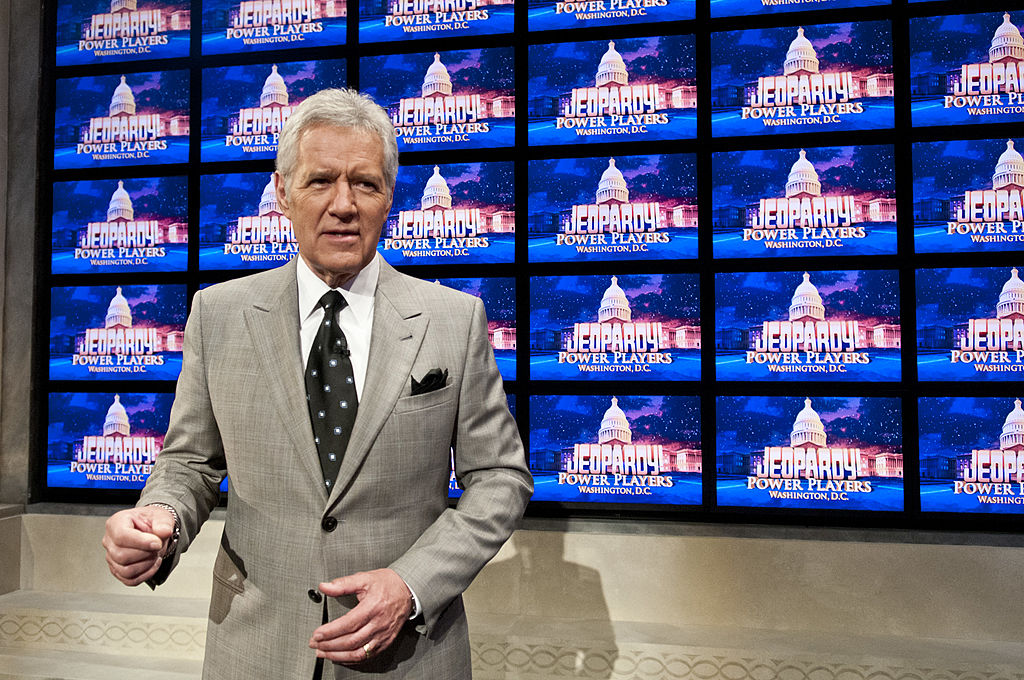 Alex Trebek of 'Jeopardy!'