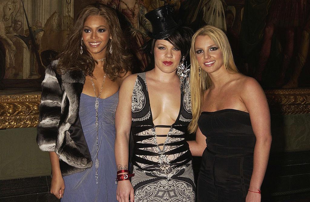 Beyoncé, Pink, and Britney Spears