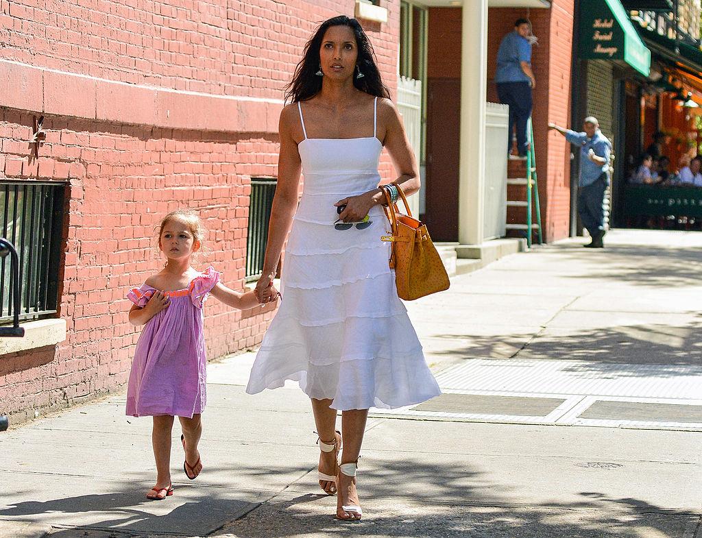 Padma Lakshmi and her daughter, Krishna Lakshmi-Dell