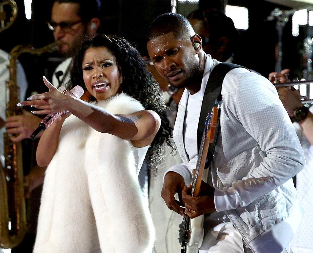 Nicki Minaj and Usher