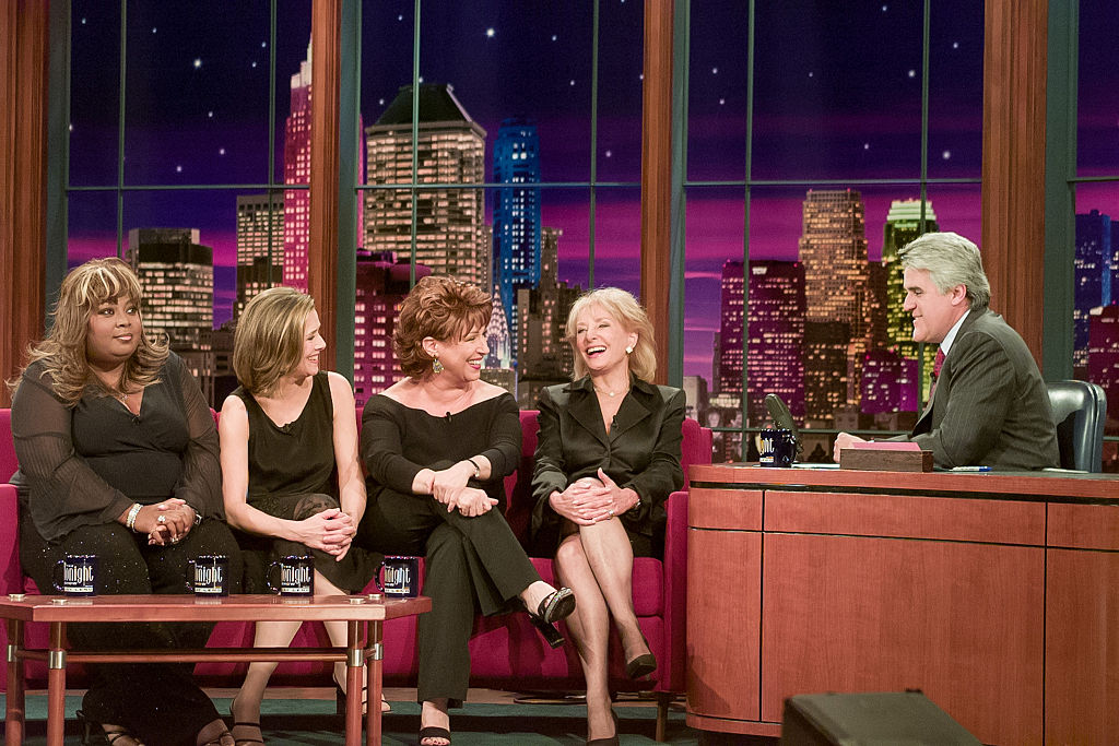 The ladies of 'The View' stop by 'The Tonight Show with Jay Leno' in 2003
